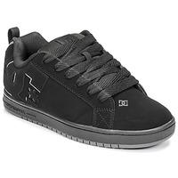 kengät Miehet Skeittikengät DC Shoes COURT GRAFFIK Musta / Punainen