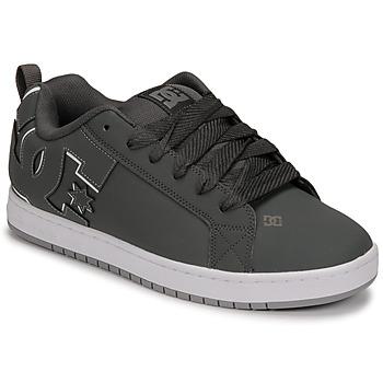 kengät Miehet Skeittikengät DC Shoes COURT GRAFFIK Harmaa / Musta