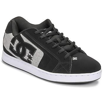 kengät Miehet Skeittikengät DC Shoes NET Musta / Harmaa