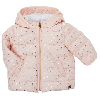 vaatteet Tytöt Toppatakki Carrément Beau ACAJOU Vaaleanpunainen