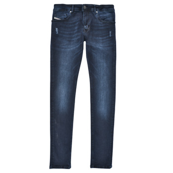 vaatteet Pojat Skinny-farkut Diesel SLEENKER Sininen / Tumma