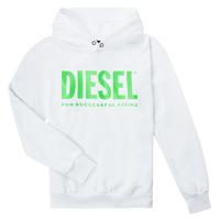 vaatteet Lapset Svetari Diesel SDIVISION LOGOX OVER Valkoinen