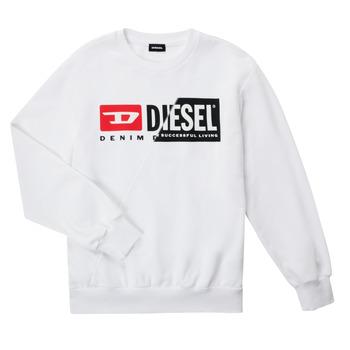 vaatteet Lapset Svetari Diesel SGIRKCUTY OVER Valkoinen