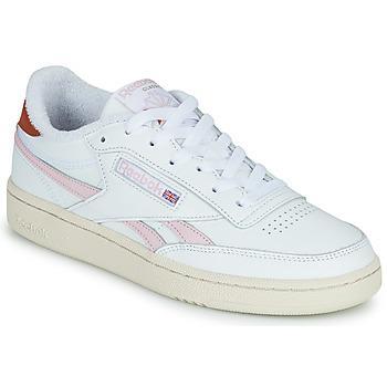 kengät Naiset Matalavartiset tennarit Reebok Classic CLUB C REVENGE Valkoinen / Vaaleanpunainen