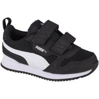 kengät Lapset Matalavartiset tennarit Puma R78 V Infants Noir