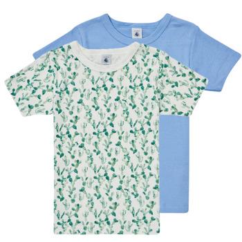 vaatteet Pojat Lyhythihainen t-paita Petit Bateau LOLITA Monivärinen