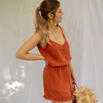 vaatteet Naiset Jumpsuits / Haalarit Céleste NEROLI Ruskea