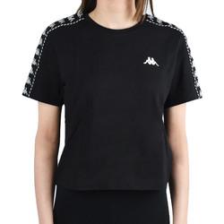 vaatteet Naiset Lyhythihainen t-paita Kappa Inula T-Shirt Noir
