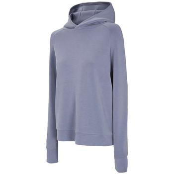 vaatteet Naiset Ulkoilutakki 4F Women's Hoodie Bleu