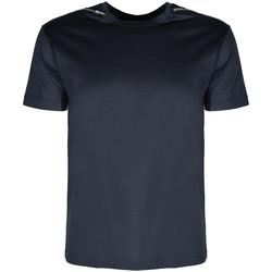 vaatteet Miehet Lyhythihainen t-paita Les Hommes  Sininen