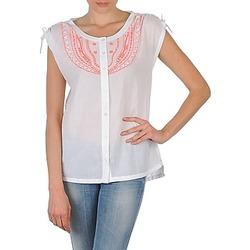 vaatteet Naiset Lyhythihainen paitapusero Antik Batik AYLA White