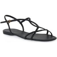 kengät Naiset Sandaalit ja avokkaat Miss Unique UNIQUE   PRETO CALF Nero