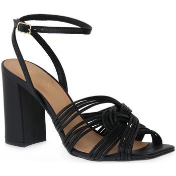 kengät Naiset Sandaalit ja avokkaat Miss Unique UNIQUE   PRETO SMOOTHIE Nero