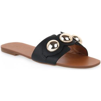 kengät Naiset Sandaalit Miss Unique UNIQUE   CALF PRETO Nero