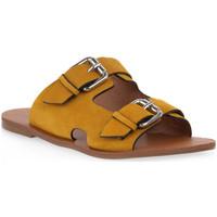 kengät Naiset Sandaalit Miss Unique UNIQUE   SUNFLOWER CAM Giallo