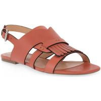 kengät Naiset Sandaalit ja avokkaat Miss Unique UNIQUE   PEACH CALF Rosa