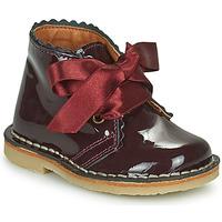 kengät Tytöt Bootsit Citrouille et Compagnie PASTEQU Viininpunainen