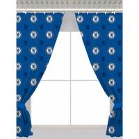 Koti Verhot, kaihtimet Chelsea Fc 168 x 137 cm Blue