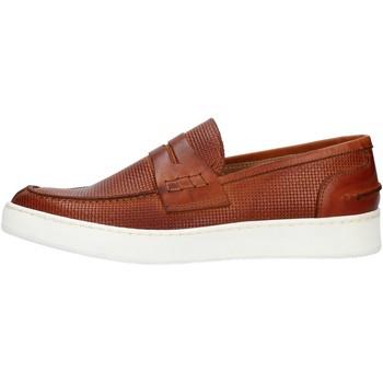 kengät Miehet Mokkasiinit Made In Italia 100 Ruskea