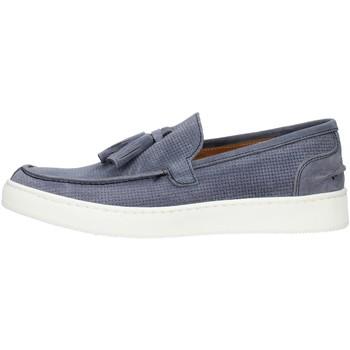 kengät Miehet Mokkasiinit Made In Italia 080CAMOSCIO Sininen