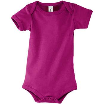 vaatteet Pojat Aluspaidat Sols BAMBINO FUCSIA Violeta