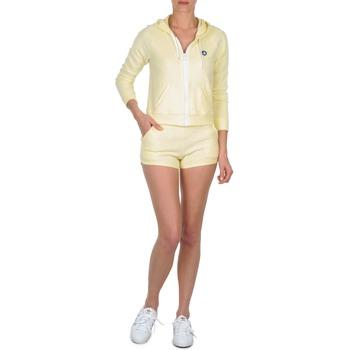 vaatteet Naiset Shortsit / Bermuda-shortsit Petit Bateau TOUPET Yellow