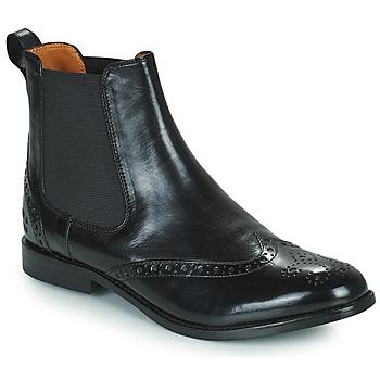 kengät Naiset Bootsit Melvin & Hamilton AMELIE 5 Musta