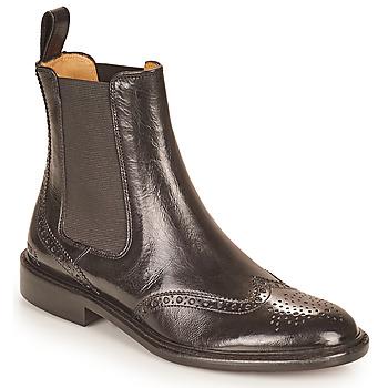 kengät Naiset Bootsit Melvin & Hamilton SALLY 112 Musta