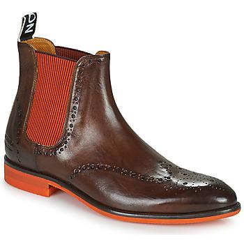 kengät Miehet Bootsit Melvin & Hamilton BOBBY 8 Ruskea