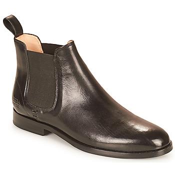 kengät Naiset Bootsit Melvin & Hamilton SUSAN 10 Musta