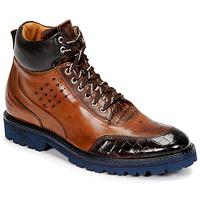 kengät Miehet Bootsit Melvin & Hamilton TREVOR 28 Ruskea