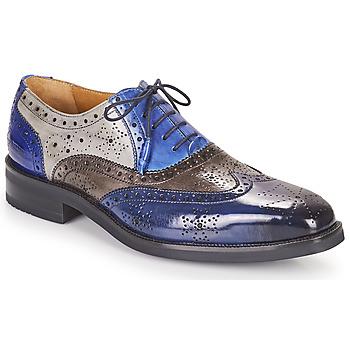 kengät Miehet Derby-kengät Melvin & Hamilton JEFF 28 Sininen