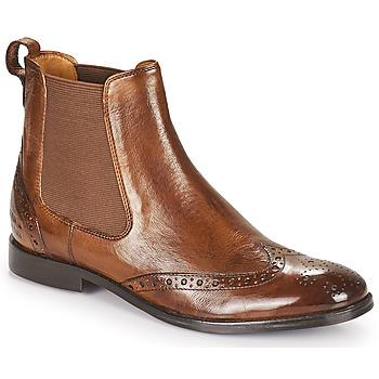 kengät Naiset Bootsit Melvin & Hamilton AMELIE 5 Ruskea