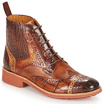 kengät Naiset Bootsit Melvin & Hamilton AMELIE 17 Ruskea
