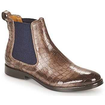 kengät Naiset Bootsit Melvin & Hamilton AMELIE 12 Ruskea