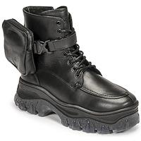 kengät Naiset Bootsit Bronx JAXSTAR MID Musta