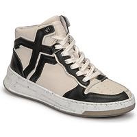 kengät Naiset Korkeavartiset tennarit Bronx OLD COSMO Valkoinen / Musta