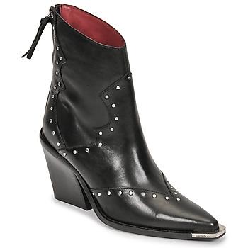 kengät Naiset Saappaat Bronx NEW KOLE Musta