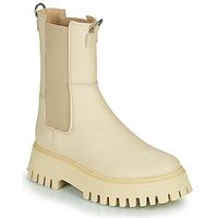 kengät Naiset Bootsit Bronx GROOV Y Beige