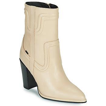 kengät Naiset Saappaat Bronx NEXT AMERICANA Beige