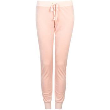 vaatteet Naiset Verryttelyhousut Juicy Couture  Vaaleanpunainen