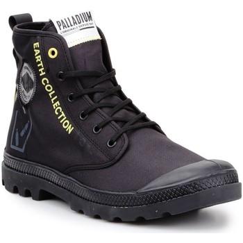 kengät Korkeavartiset tennarit Palladium Pampa 77054-008-M black, yellow