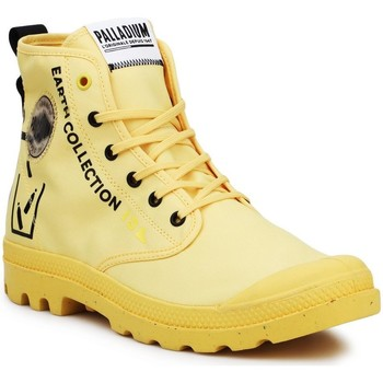 kengät Korkeavartiset tennarit Palladium Pampa 77054-713-M black, yellow