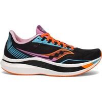 kengät Naiset Juoksukengät / Trail-kengät Saucony Endorphin Pro Mustat