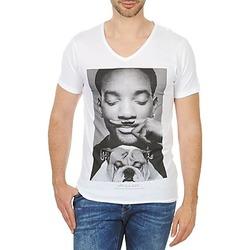 vaatteet Miehet Lyhythihainen t-paita Eleven Paris WOLY M White