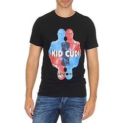 vaatteet Miehet Lyhythihainen t-paita Eleven Paris KIDC M Black