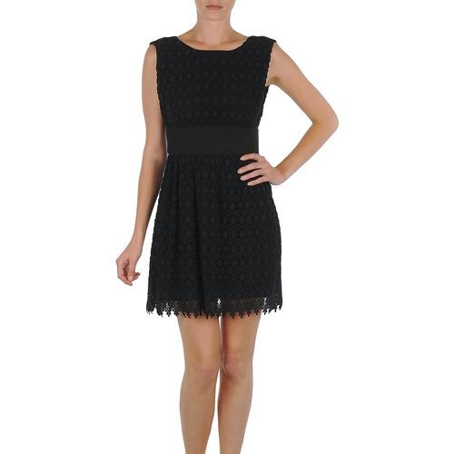 vaatteet Naiset Lyhyt mekko Eleven Paris DEMAR Black