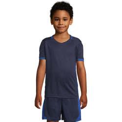 vaatteet Lapset Lyhythihainen t-paita Sols CLASSICOKIDS Marino Azul Azul