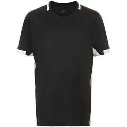 vaatteet Pojat Lyhythihainen t-paita Sols CLASSICOKIDS Negro Blanco Negro