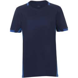 vaatteet Pojat Lyhythihainen t-paita Sols CLASSICO KIDS Azul Marino Azul